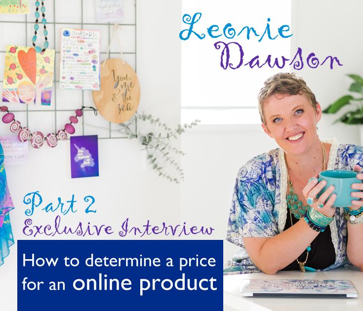 Leonie Dawson video interview